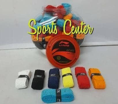 Foto Produk Grip Handuk Lining GC002 / GC 002 Towel Grip ORIGINAL dari Sports Center