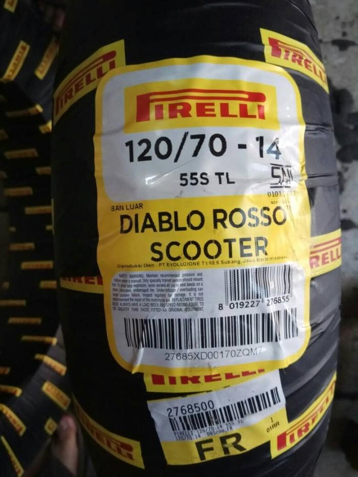 harga Ban luar tubeless pirelli yamaha aerox 155 depan 120 70 14 Tokopedia.com