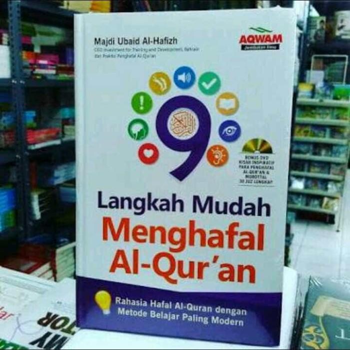 Buku 9 Langkah Mudah Menghafal Al Quran Aqwam Original