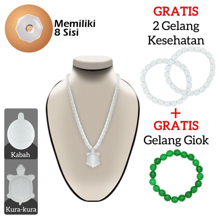 harga Kalung ginsamyong putih bonus gelang kesehatan Tokopedia.com