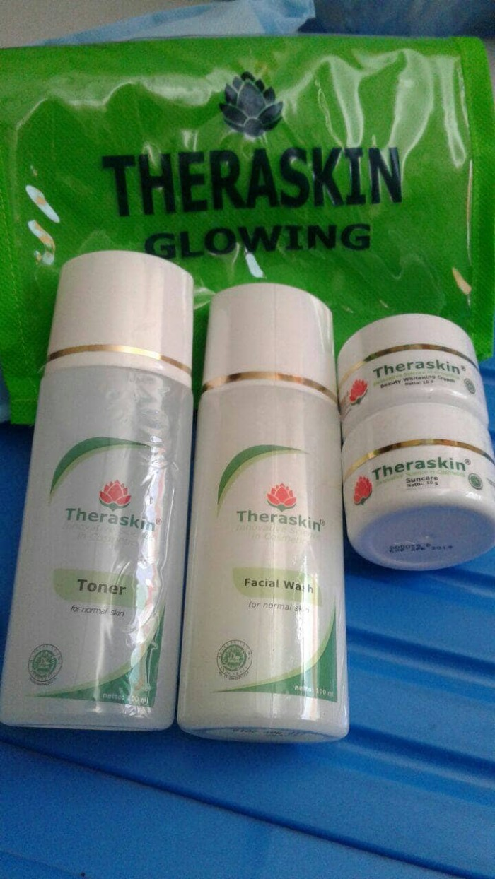 Jual Theraskin Paket Whitening Glow Demoemau Tokopedia Glowing