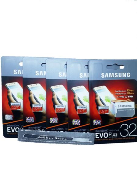 harga Micro sd samsung 32gb class 10 95mb/s evo plus original memory Tokopedia.com
