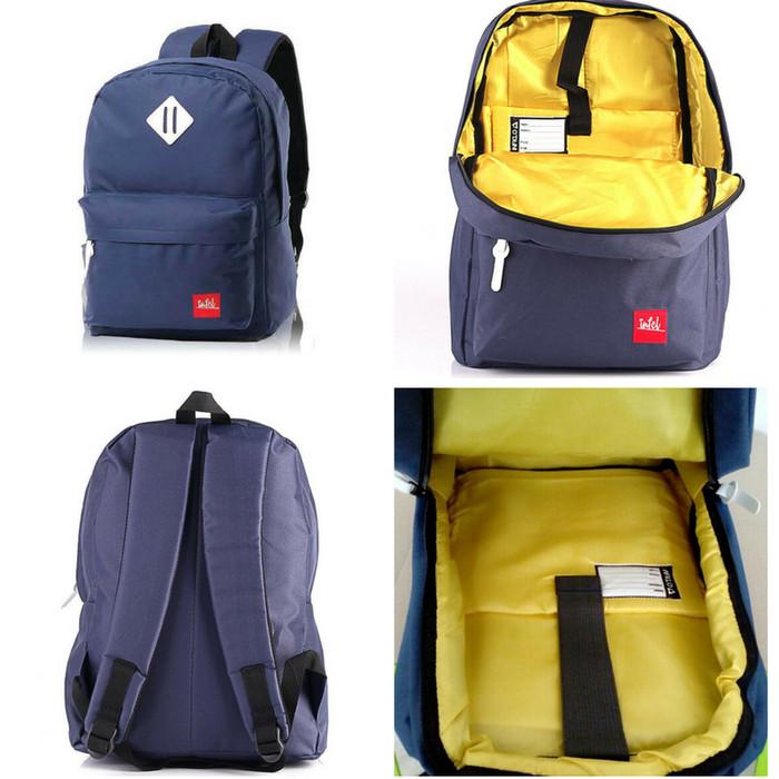 Jual Tas Ransel Wanita Pria Sekolah Punggung Gendong Model Laptop ... 69f40e44c7