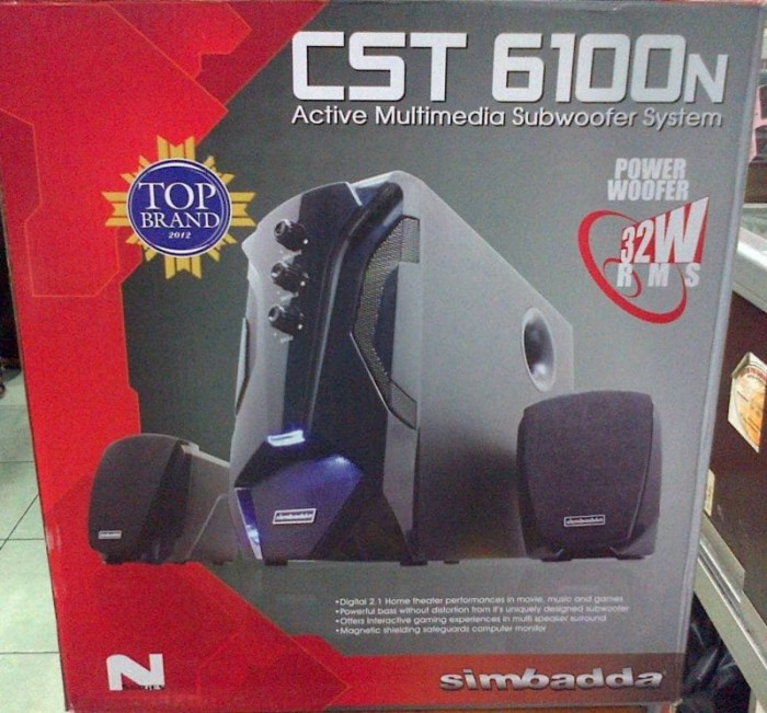 harga Speaker aktif simbadda cst-6100-n+ bluetooth   simbada cst-6100n 32wat Tokopedia.com