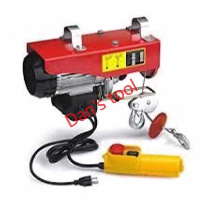 harga Electric hoist / katrol elektrik / electric winch 1200 x 24 meter Tokopedia.com