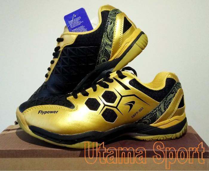 harga Sepatu bulutangkis / badminton shoes flypower mendut Tokopedia.com