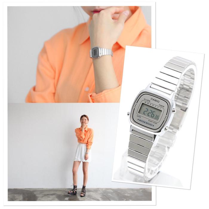 harga Jam tangan casio rantai la670-wa original Tokopedia.com