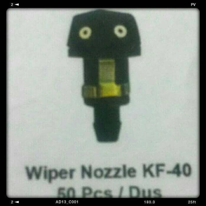 harga Wiper nozzle / washer nozle/ nozel.semprotan air kijang super/5k/grand Tokopedia.com