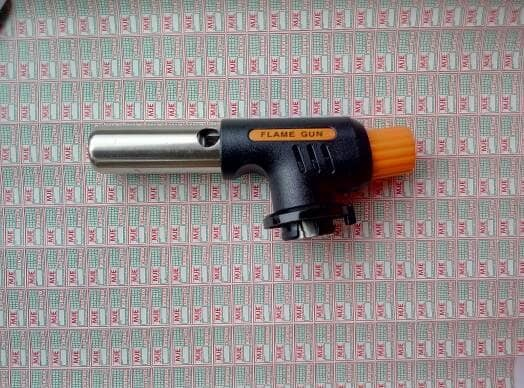 Flamethrower Gas Torch Butane Burner Auto Ignition Camping Welding Source · Flame gun alat las otomatis