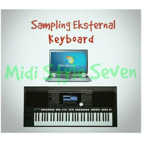 harga Sampling eksternal semua merk keyboard Tokopedia.com