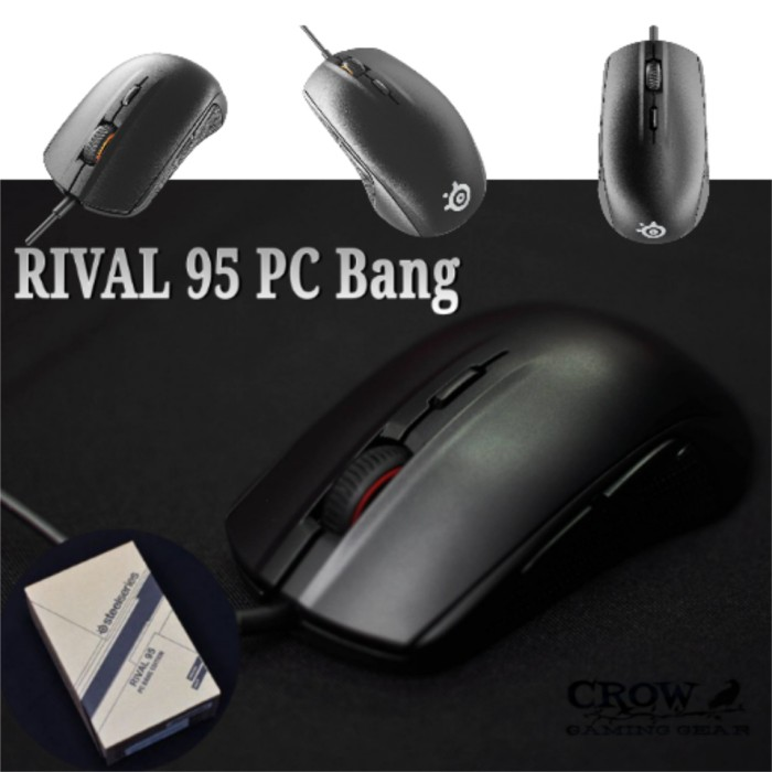 9fe1fdd5359 Jual STEELSERIES RIVAL 95 PC BANG Gaming Mouse | Original + Baru + ...
