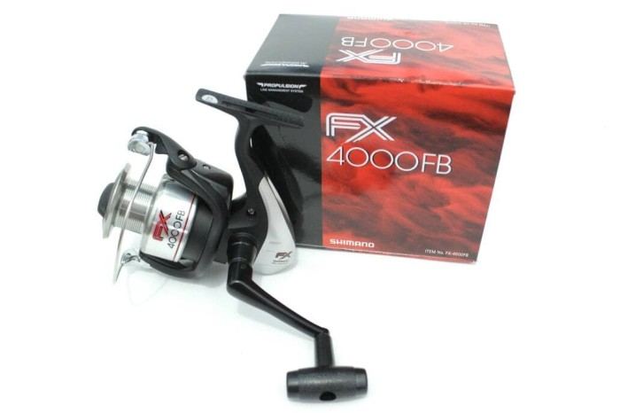 f1886159f73 Spinning Reel SHIMANO FX series 4000FB ORIGINAL Made in Malaysia