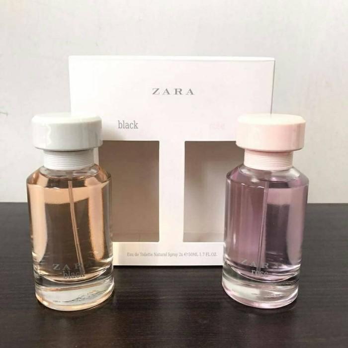 Parfum And Rose Black Isi Set Zara 2pcs Jakarta Jual Gift Original OkPiXZu