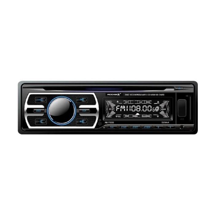 harga Rockbox rb-7530 single din dvd player Tokopedia.com