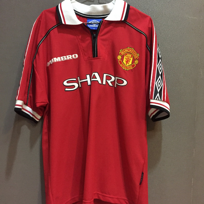 the latest 92359 9a856 Jual Manchester United Treble Winners 98/99 Home Kit (GIGGS) size : M - DKI  Jakarta - prodirect_soccer | Tokopedia