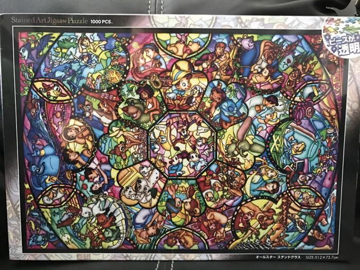 harga Disney jigsaw puzzle 1000 pcs - all star stained glass Tokopedia.com