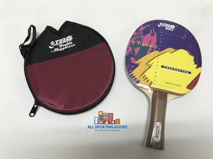 Bet Tenis Meja Table Tennis Ping Pong Double Happiness DHS 3 IMPORT