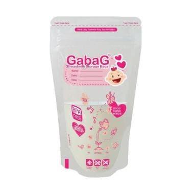 Gabag breastmilk storage bag girl & boy 100ml