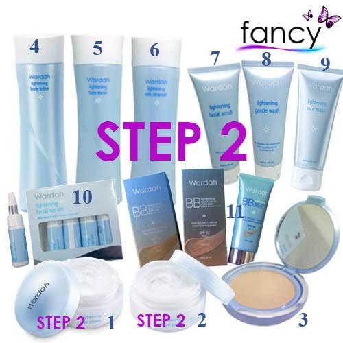 harga Step 2 wardah lightening series paket lengkap 11 produk pilihan (b) Tokopedia.com