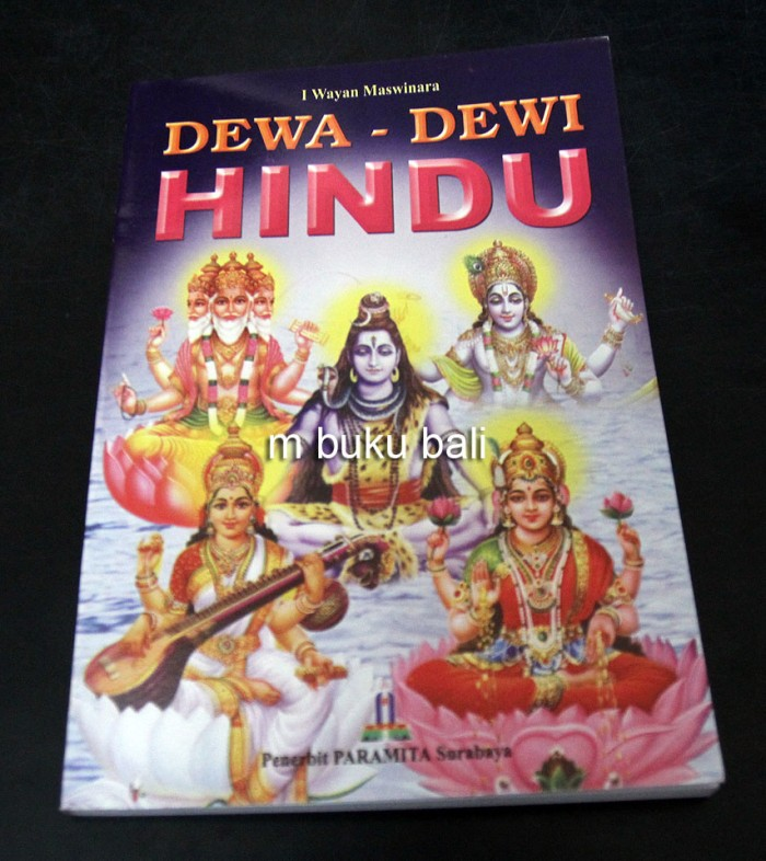 Foto Produk Dewa-dewi Hindu - buku bali dari m buku bali