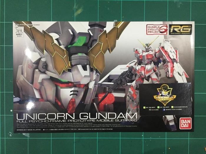 harga Rg rx-0 unicorn gundam Tokopedia.com