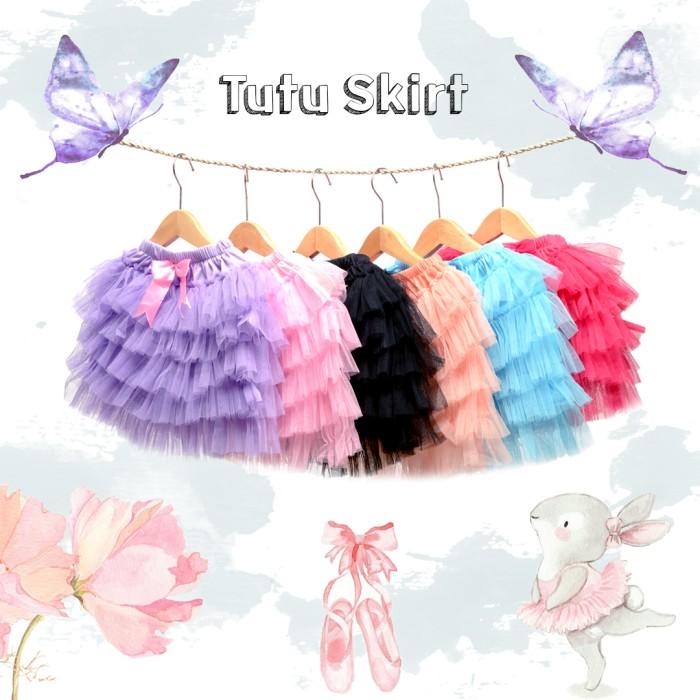 harga Rok tutu skirt anak perempuan ballet balet balerina 5 layer halus Tokopedia.com