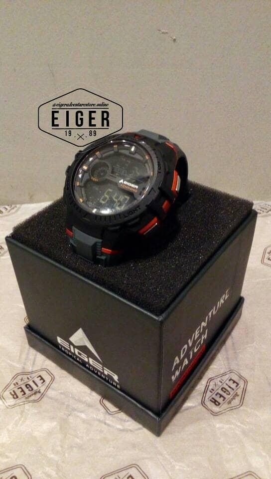 harga Jam tangan eiger original makalo black Tokopedia.com