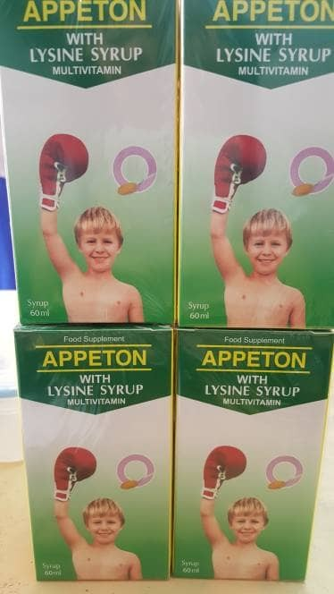 harga Appeton lysine syrup 60ml Tokopedia.com