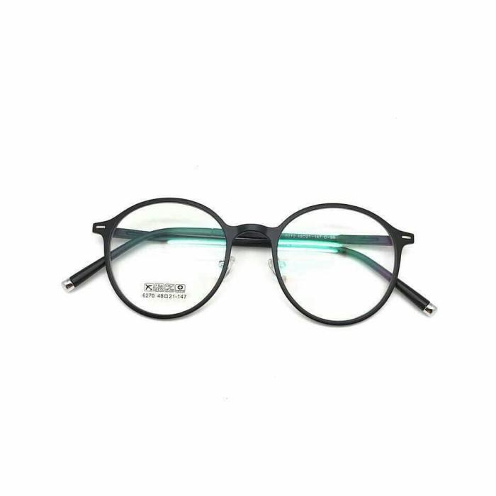 Jual Paket Frame Kacamata Korea Circle + Lensa Minus Antiradiasi ... 0675bdc696