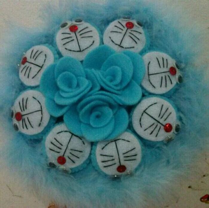 Jual Buket Boneka Doraemon Kain Flanel Buket Bunga Kain Flanel Kota Cilegon Dedi Irawan Tokopedia