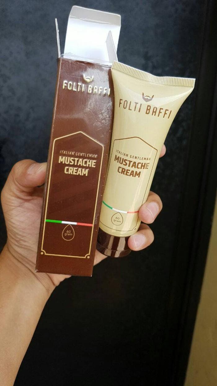 Folti Baffi Cream Penumbuh Jambang Jenggot Kumis Terlaris