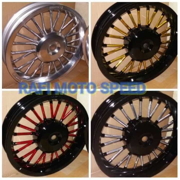 harga Velg power x ride - mio - nouvo - mio sporty type andong Tokopedia.com