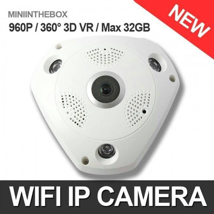 Jual CCTV online Live Streaming Panoramic CameraVR Cam/Ip Cam 360 - DKI  Jakarta - warung88 | Tokopedia