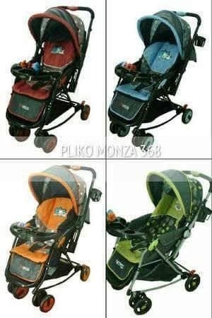 harga Pliko monza kereta dorong stroller bayi Tokopedia.com
