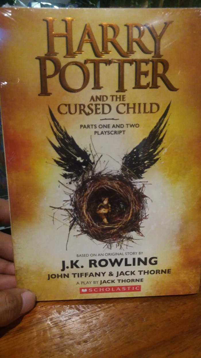 Jual Harry Potter And The Cursed Child Parts E And Two Jakarta Pusat RZREADS