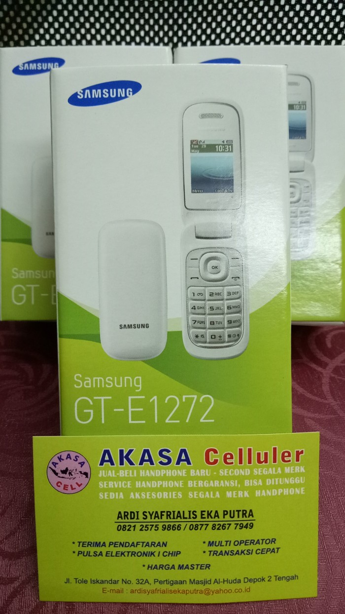 Jual Samsung Lipat Flip Gt E1272 Caramel Garansi Resmi Ceramic White