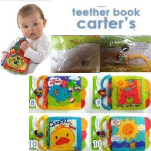 Jual TEETHER CARTER TEETHER BOOK BUKU BANTAL TEETHER BAYI - TSPOINT ... 072c710902