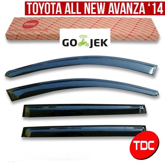 harga Toyota avanza 2014 slim talang air mcbc (side visor ) variasi mobil Tokopedia.com