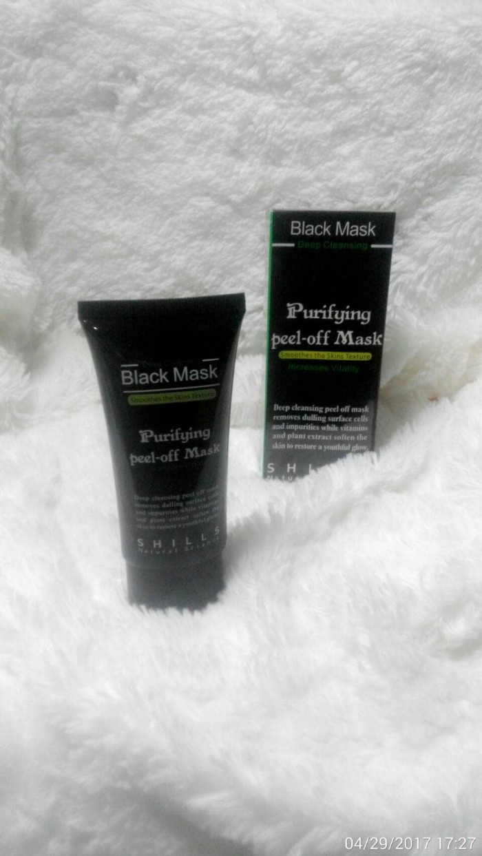 Jual Black Mask Shills Pureifying Peel Of Rich