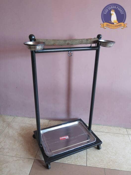 harga Tangkringan pangkringan kandang burung kakatua macaw bayan afgrey nuri Tokopedia.com