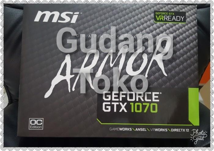 Jual VGA CARD MSI GTX 1070 ARMOR 8G OC GTX1070 8GB DDR5 - DKI Jakarta -  GudangToko   Tokopedia