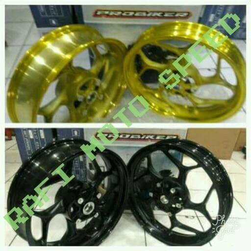 harga Velg probiker cb 150 r - new megapro - cbr 150 r k45 3.00 - 4.50 inch Tokopedia.com