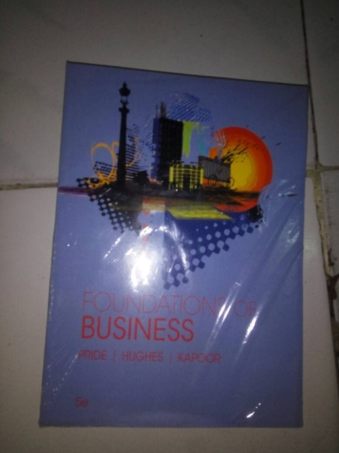 harga Foundations of business 5th by. pride hughes kapoor Tokopedia.com