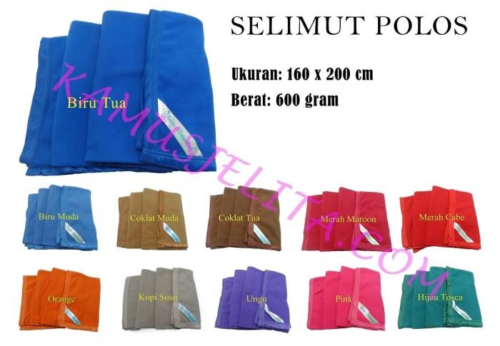 Grosir Selimut Polos Yatis Selimut Hotel/ Rumah Sakit/ Klinik/ Wisma