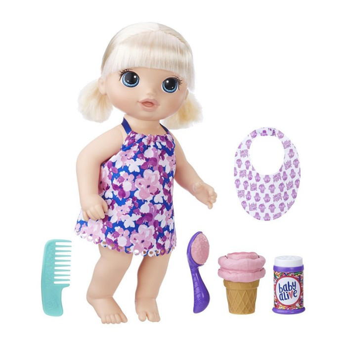 harga Baby alive magical scoops baby doll blonde - c1090 Tokopedia.com