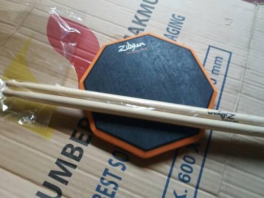 harga Pad drum 8 inchi murah bonus stick sepasang Tokopedia.com