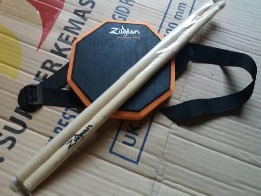 harga Pad drum 6 inchi murah bonus stick sepasang dan sabuk Tokopedia.com
