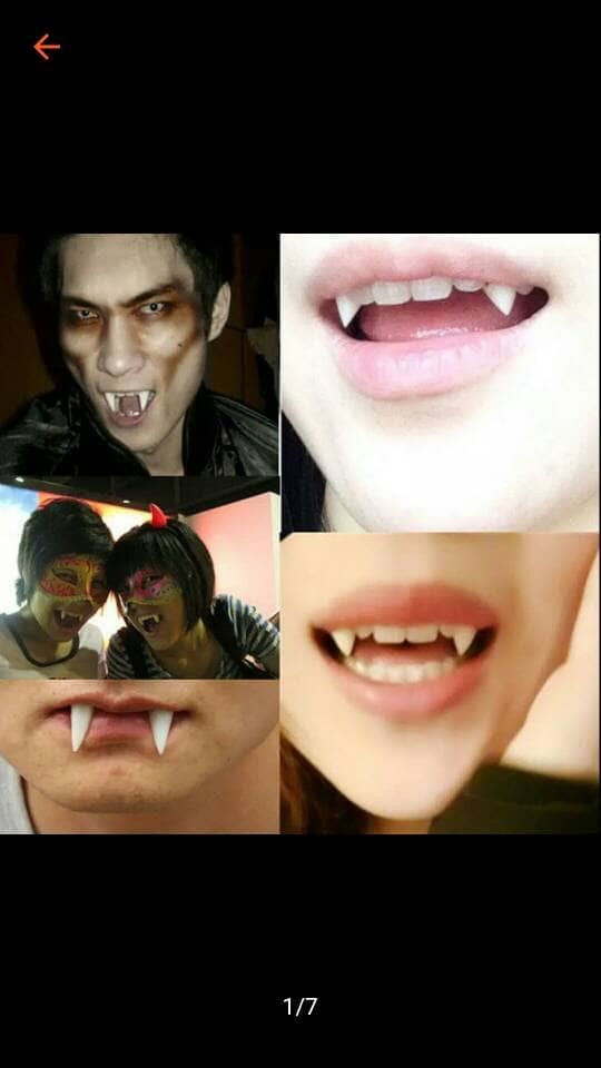 harga Mainan gigi palsu vampire helloween Tokopedia.com