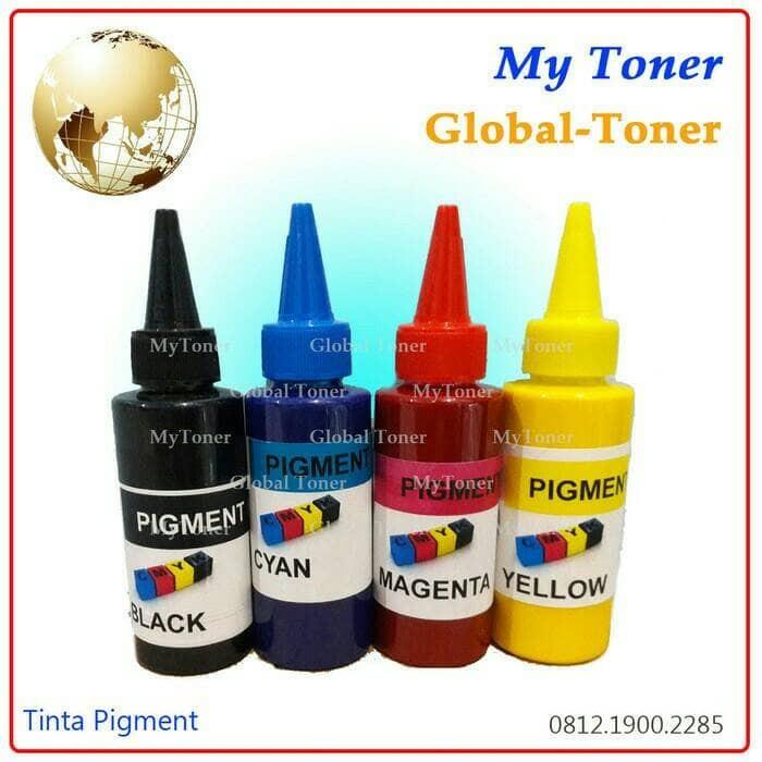 harga Tinta cair pigment korea 100ml printer ink jet canon black Tokopedia.com