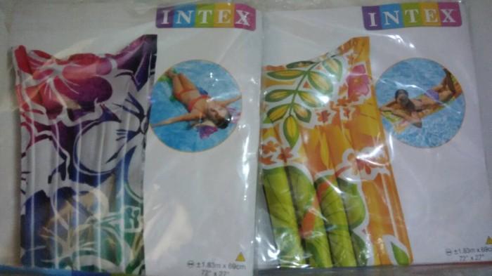 harga Intex 59720 matras air kasur renang bagus murah besar bisa gojek jne Tokopedia.com